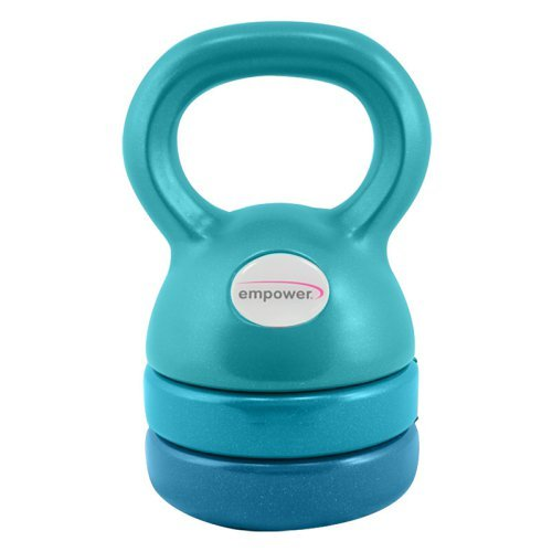 Empower Fitness 3-in-1 Kettlebell with DVD MP-3129R