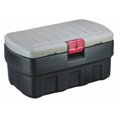 RUBBERMAID Attached Lid Container,6.41 cu ft 1949210