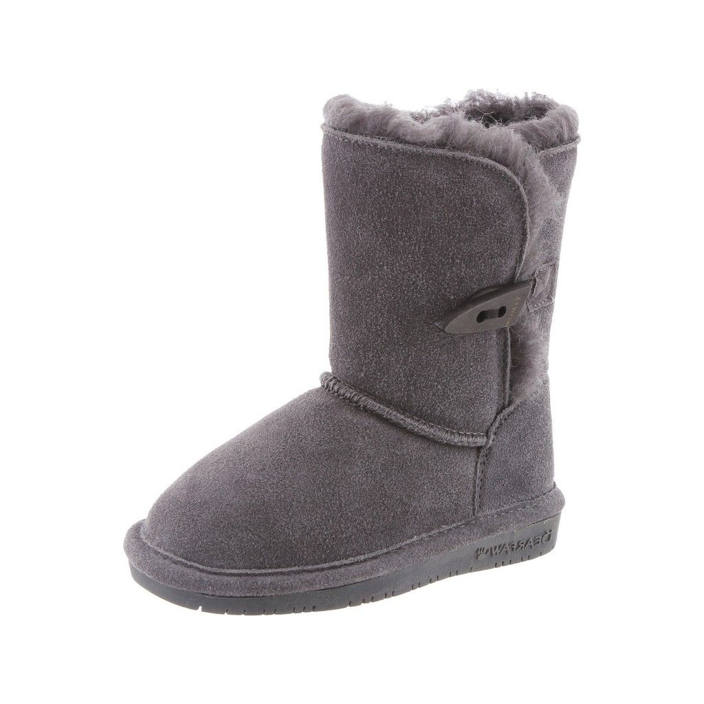 Bearpaw Boots Girl Abigail Suede Comfortable Stylish Togg...