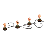 5.5' Pathway Stakes Sparkle Candy Cane Christmas Lights