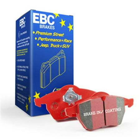 EBC 12+ BMW M5 4.4 Twin Turbo (F10) Redstuff Rear Brake (Bmw F10 Rear Brake Pad Replacement Cost)