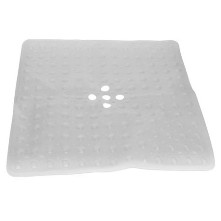 Evelots Non Slip Bath Shower Mat With Ful Suction Cups