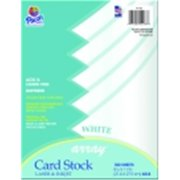 Array Acid-Free Heavy Weight Card Stock, Black, Pack - 100