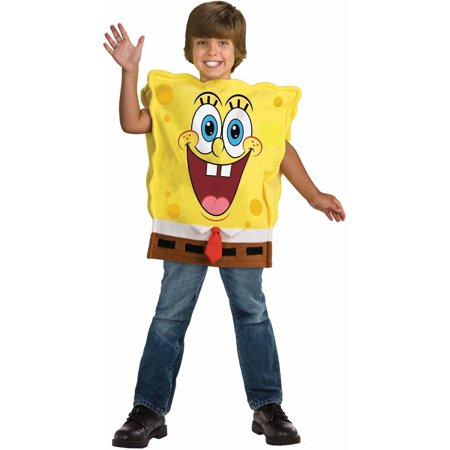 Spongebob Child's Costume, Small (4-6) for $<!---->