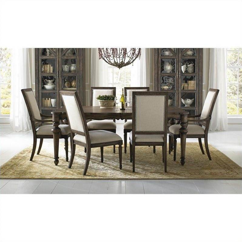 Pulaski Accentrics Home Lucia Leg Table and Chairs 7 Pc Set