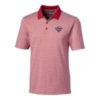 Washington Nationals Cutter & Buck 2019 World Series Champions Forge Tonal Stripe Polo - Red