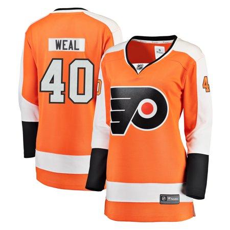 3fcfe7c174a6bd Jordan Weal Philadelphia Flyers Fanatics Branded Women s Breakaway Player  Jersey - Orange - Walmart.com
