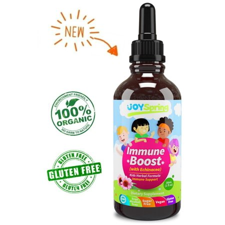 Echinacea Immune Boost Liquid Drops for Kids - Great Tasting Immune Support Supplement