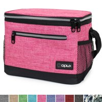 OPUX Premium Lunch Box, Insulated Lunch Bag for Men Women Adult | Durable School Lunch Pail for Boys, Girls, Kids | Soft Leakproof Medium Lunch Cooler Tote for Work Office | Fits 8 Cans
