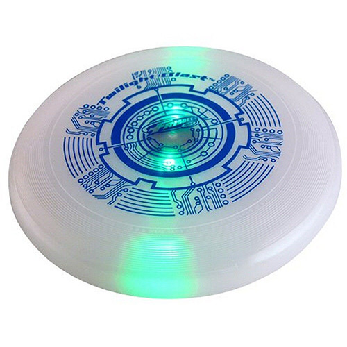 Wham-O LED Twilight Blast Frisbee (Styles Vary) Outdoor Toy