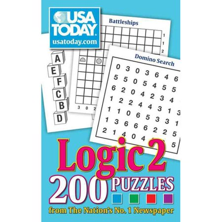 Usa Today Logic 2  200 Puzzles From The Nations No  1 Newspaper
