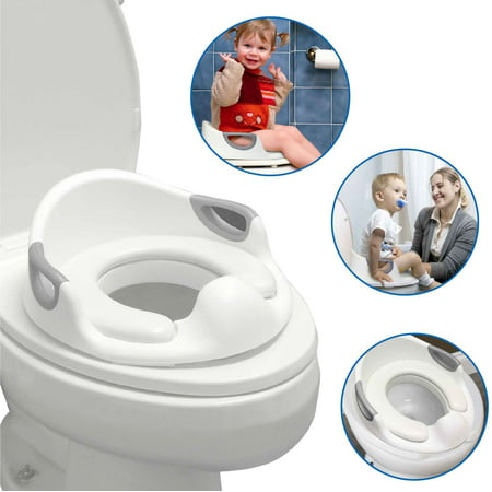 Awe Inspiring Easygo Potty Toddler Training Seat For Boys And Girls With Cushion Toilet Seat Portable With Anti Slip And Anti Splash Features Toilet Trainer Evergreenethics Interior Chair Design Evergreenethicsorg