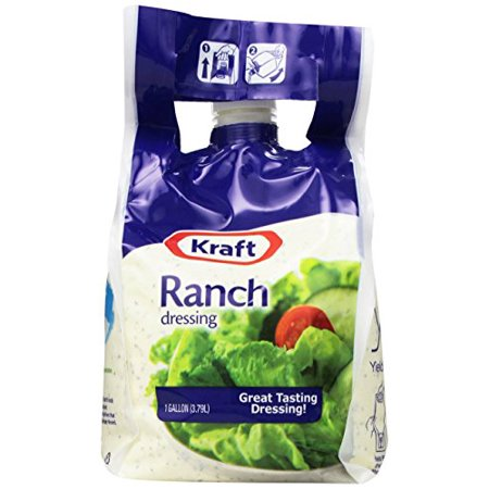 Kraft Brand Dressing Ranch Liquid, 1 Gallon, 2 Count