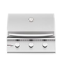 Summerset Sizzler 26-Inch 3-Burner Built-In Propane Gas Grill