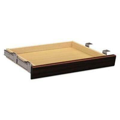 Hon Laminate Angled Center Drawer, 22w x 15-3/8d x 2-1/2h, Mahogany