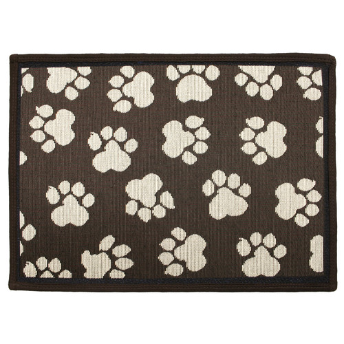 Park B Smith Ltd PB Paws & Co. Woodland / Ivory World Paws Tapestry Indoor/Outdoor Area Rug