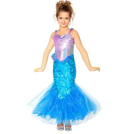 Mermaid Child Halloween Costume - Mermaid Halloween Costume Child