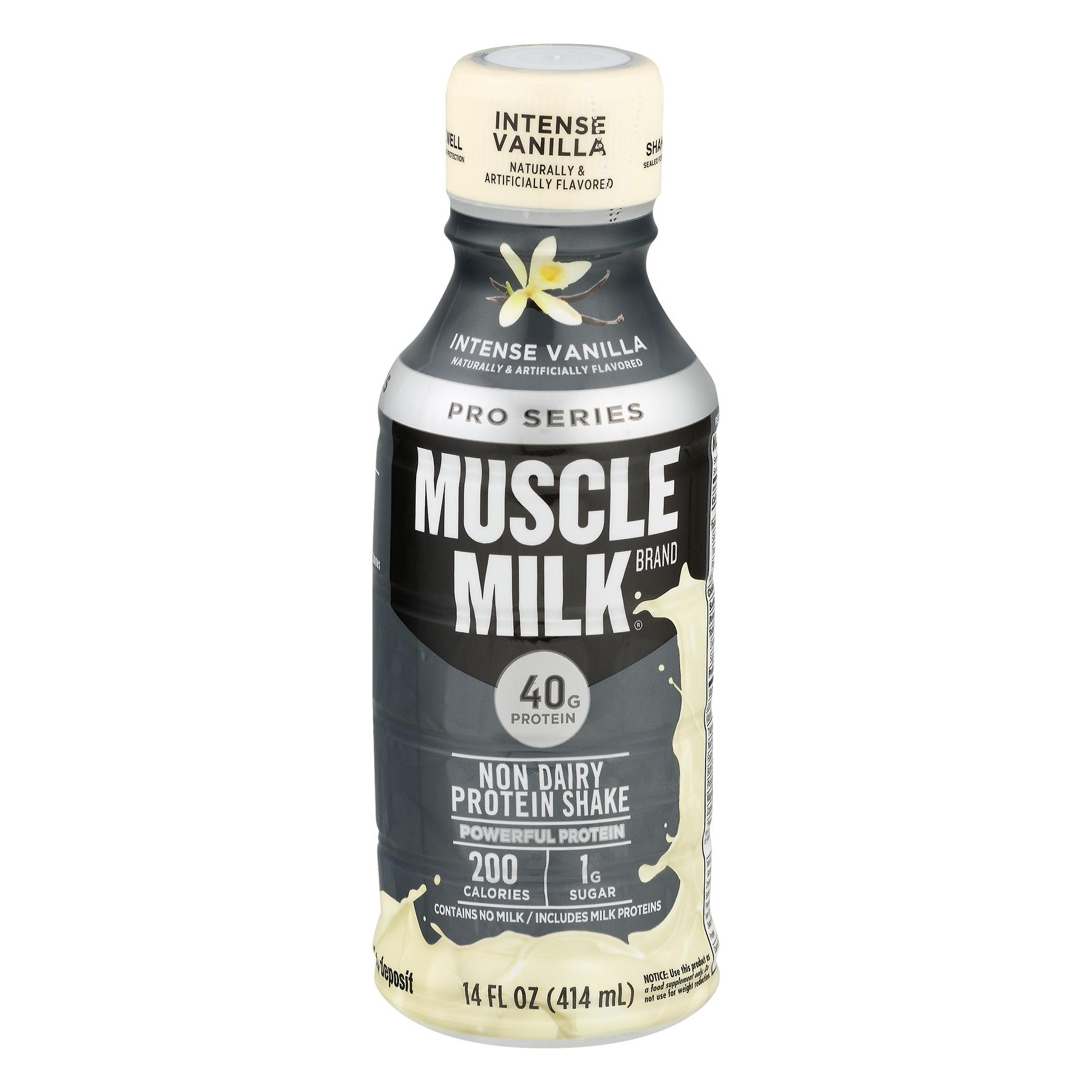 Muscle Milk Pro Series Protein Shake, Intense Vanilla, 40g Protein, 1 Ct