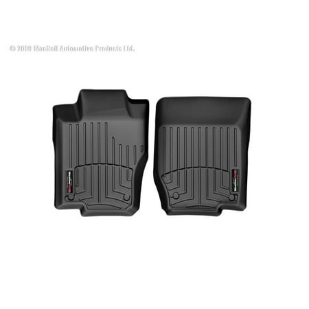 Weathertech (USA) WTC443461 Floor Liner DigitalFit (R) Molded Fit; Raised Channels With A Lower Reservoir; Black; High-Density Tri-Extruded Material; 2 Piece - image 1 of 1