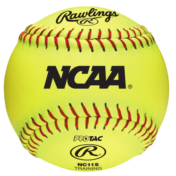 Rawlings NCAA 11 inch Soft Poly-Core Recreational Fastpitch