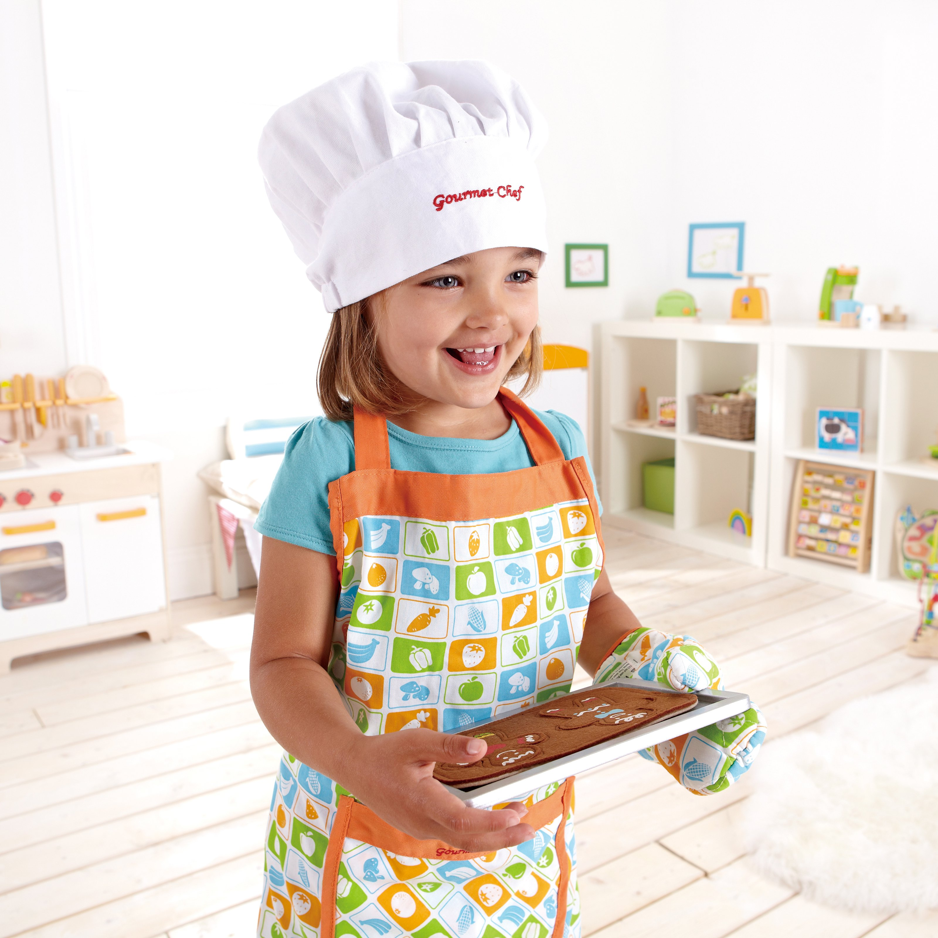 Hape Cook N Serve Play Kitchen