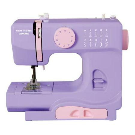 Janome Lady Lilac Portable Sewing Machine Walmart Cool Small Sewing Machine Walmart