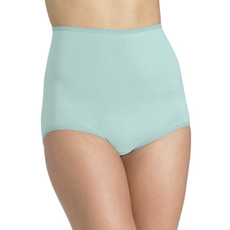 Bali Skimp Skamp Women`s Brief Panty - Best-Seller, 8, Pale