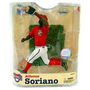 McFarlane MLB Sports Picks Series 21 Alfonso Soriano Action Figure [Red Nationals Jersey Variant]