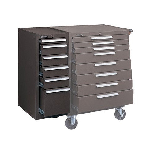 Kennedy 13.625'' Wide 6 Drawer Side Cabinet