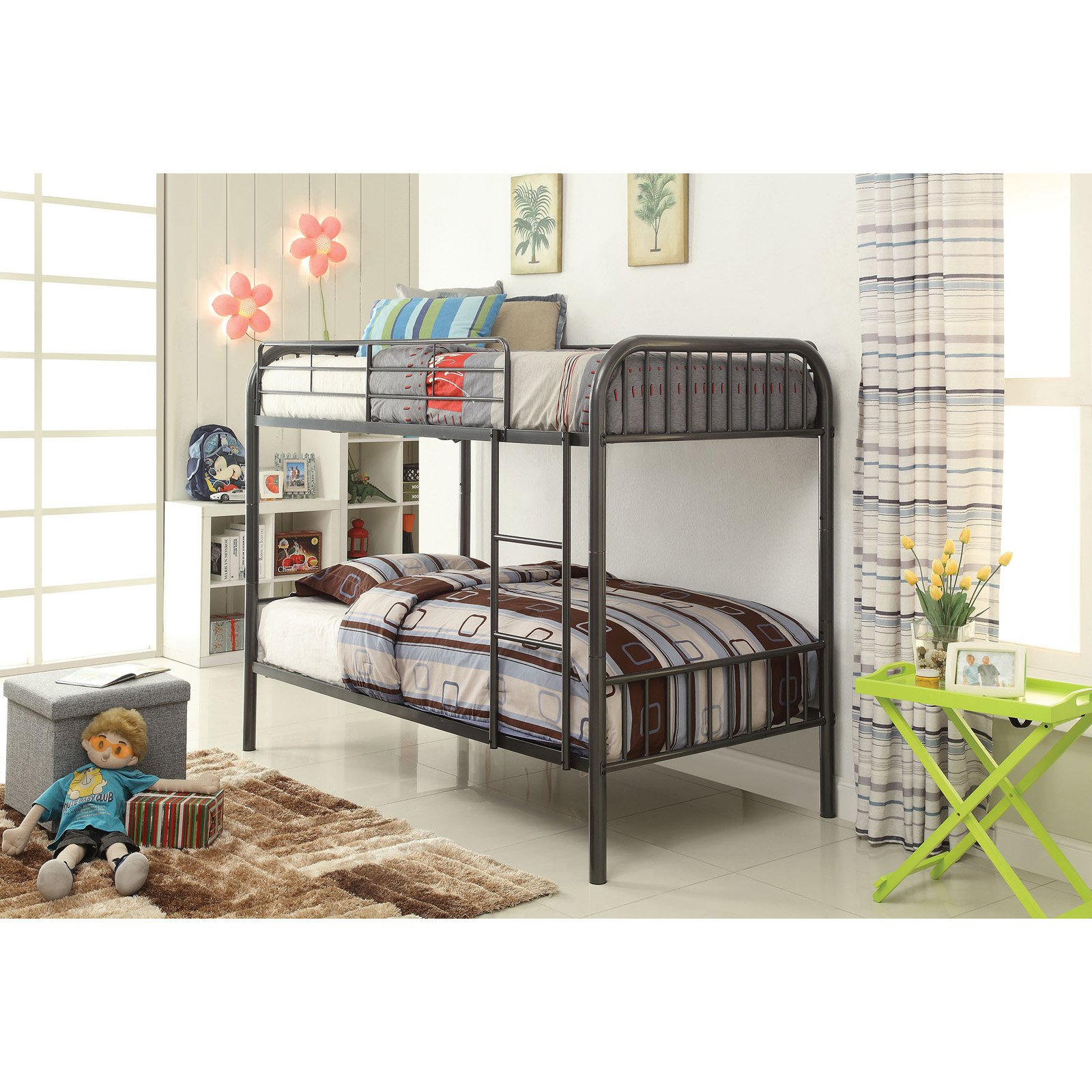 Acme Furniture Bristol Twin over Twin Bunk Bed