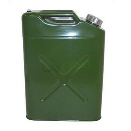 21 Gallon Gas Tank - Ktaxon Portable 5 Gallon Jerry Can Steel Caddy Tank, for Fuel Oil Gas Gasoline Petrol Diesel Storage, EU Style