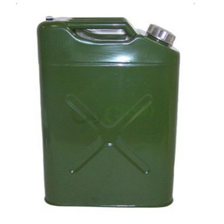 Ktaxon Portable 5 Gallon Jerry Can Steel Caddy Tank, for Fuel Oil Gas Gasoline Petrol Diesel Storage, EU Style - Mardi Gras Stores