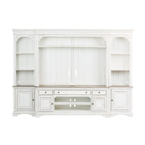 Liberty Furniture Entertainment Center with Piers