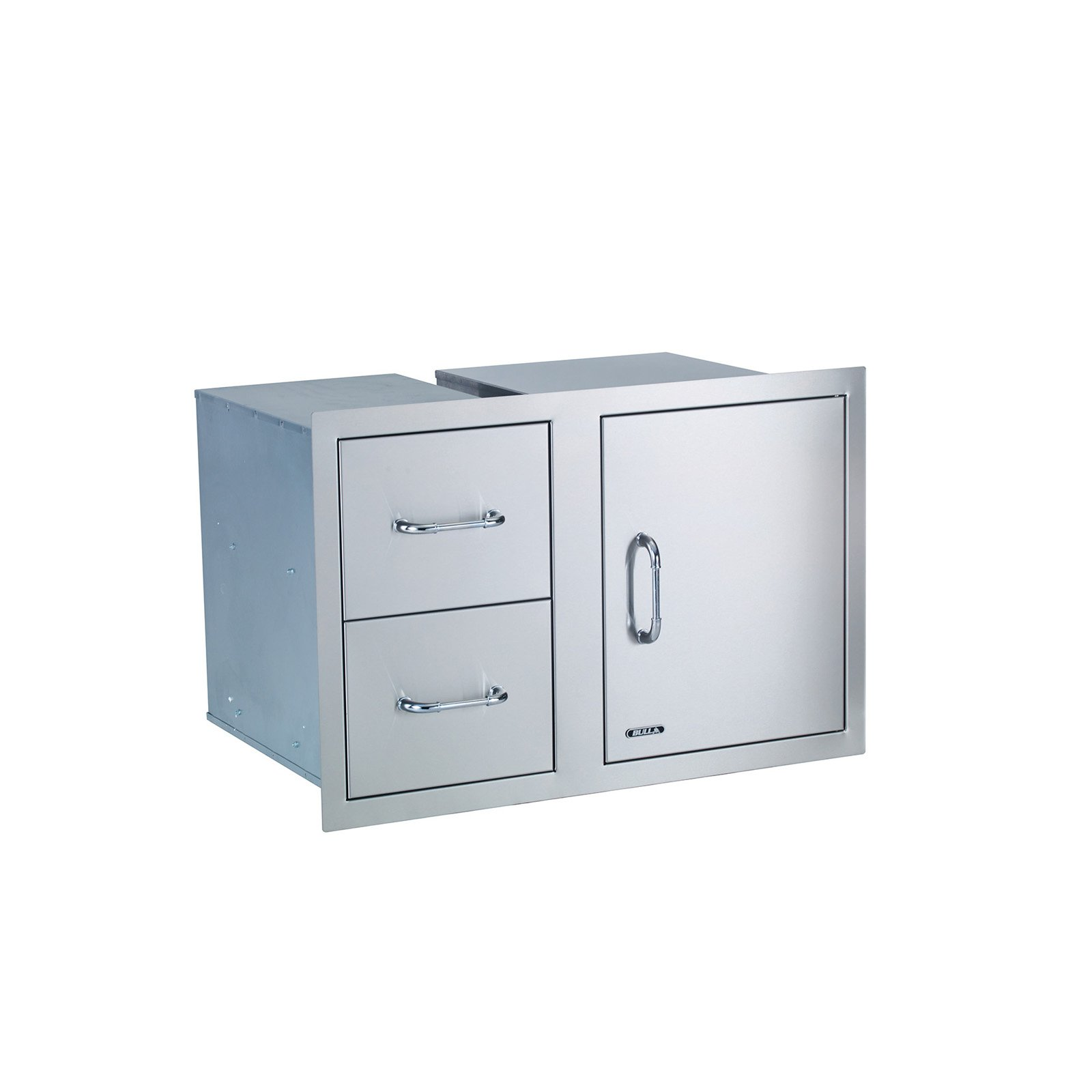 Click here to buy Bull Stainless Steel Door Drawer Combo by BULL OUTDOOR PRODUCTS,I.