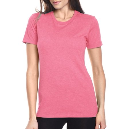 - Women's Short Sleeve Jersey Crewneck T-Shirt