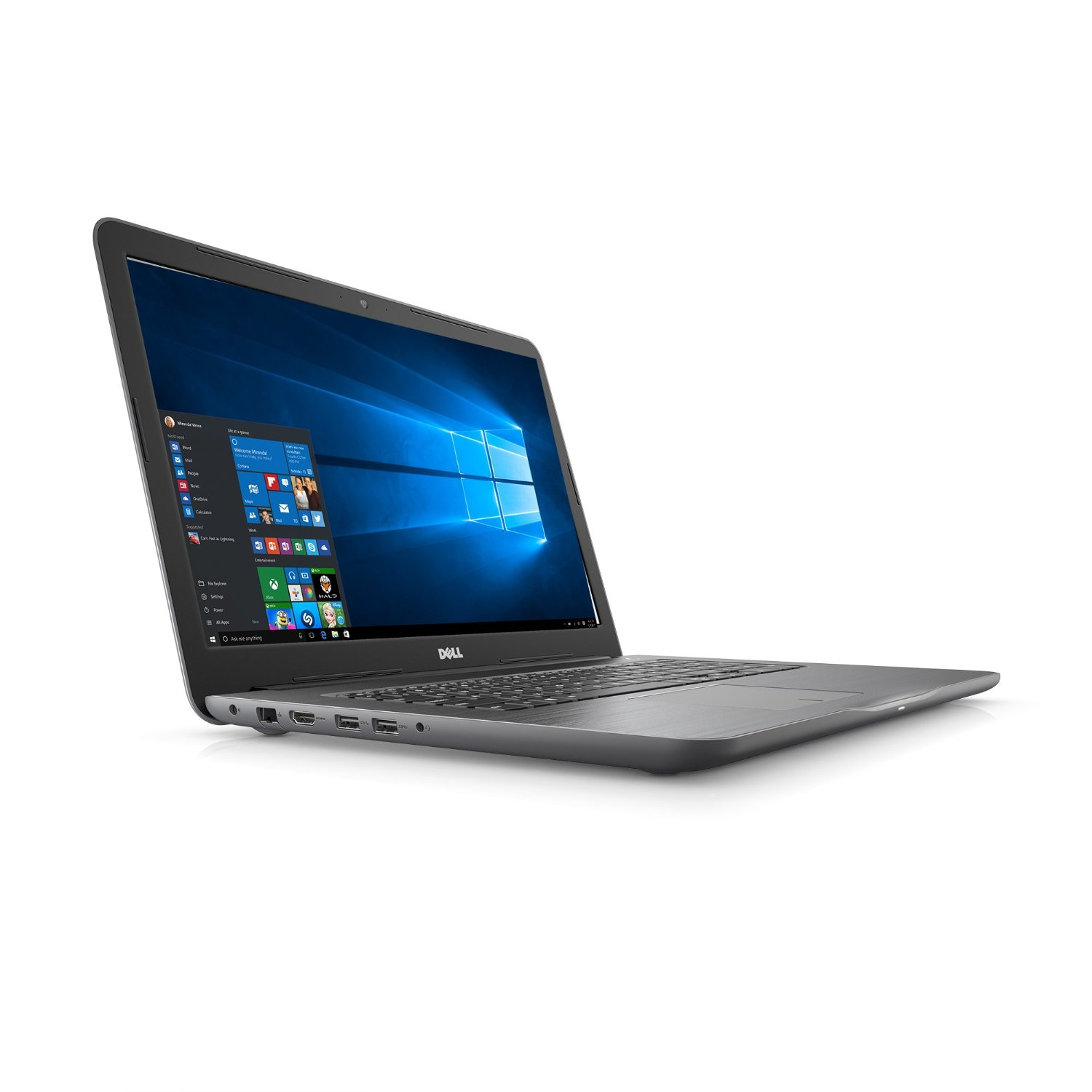 """Dell Inspiron I57652764GRY 17.3"""" Laptop, Windows 10 Home,..."""