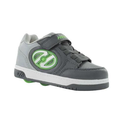 Heelys Bolt Plus X2 White   Silver   Rainbow Ankle-High Fashion Sneaker 5M by Heelys