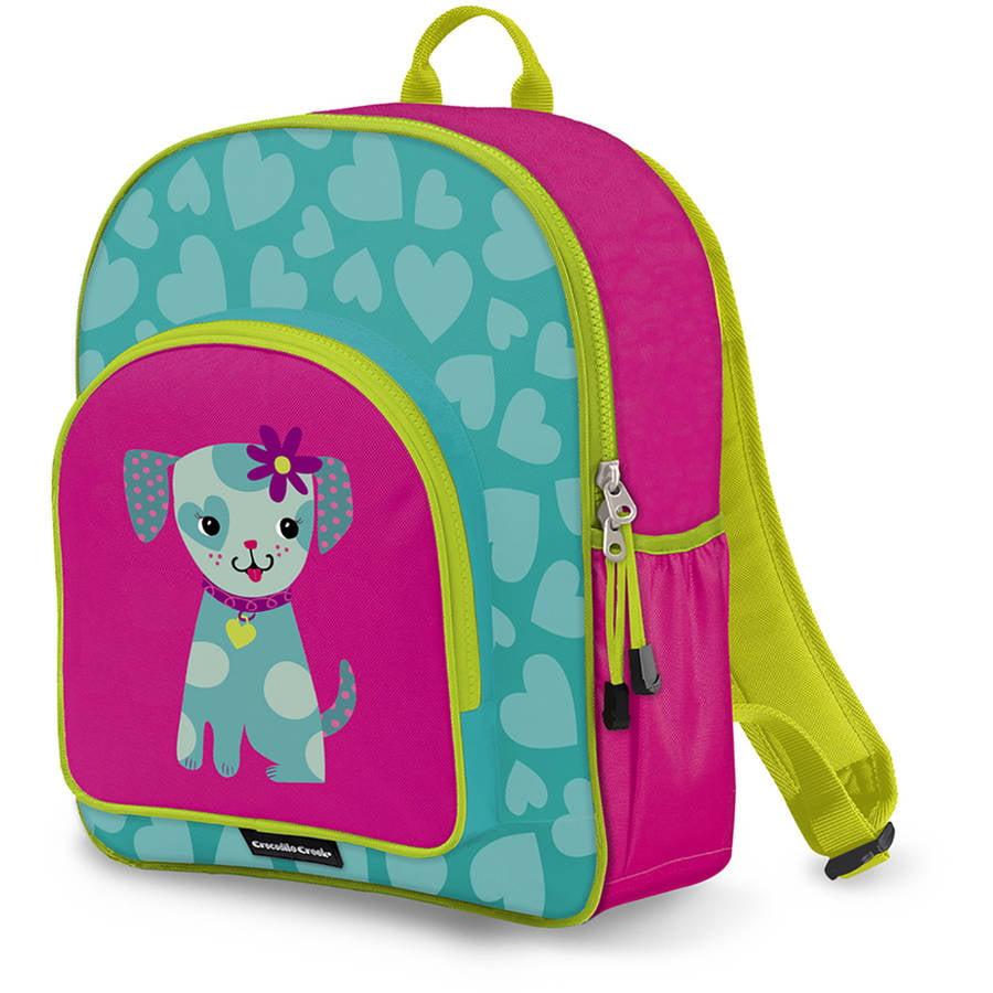 Crocodile Creek Eco Kids Puppy Girls School Backpack, 14 ...