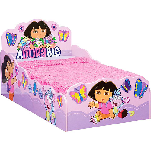 Dora the Explorer Wooden Bed