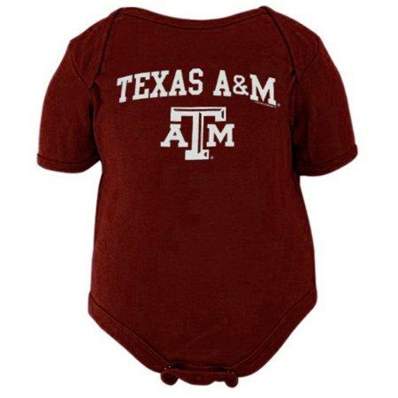 Texas A&M Aggies Unisex Infant Big Fan Bodysuit - Maroon