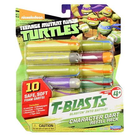 Teenage Mutant Ninja Turtles T-Blasts Refill Pack Dart Ammo 10-Pack [Combination 1]
