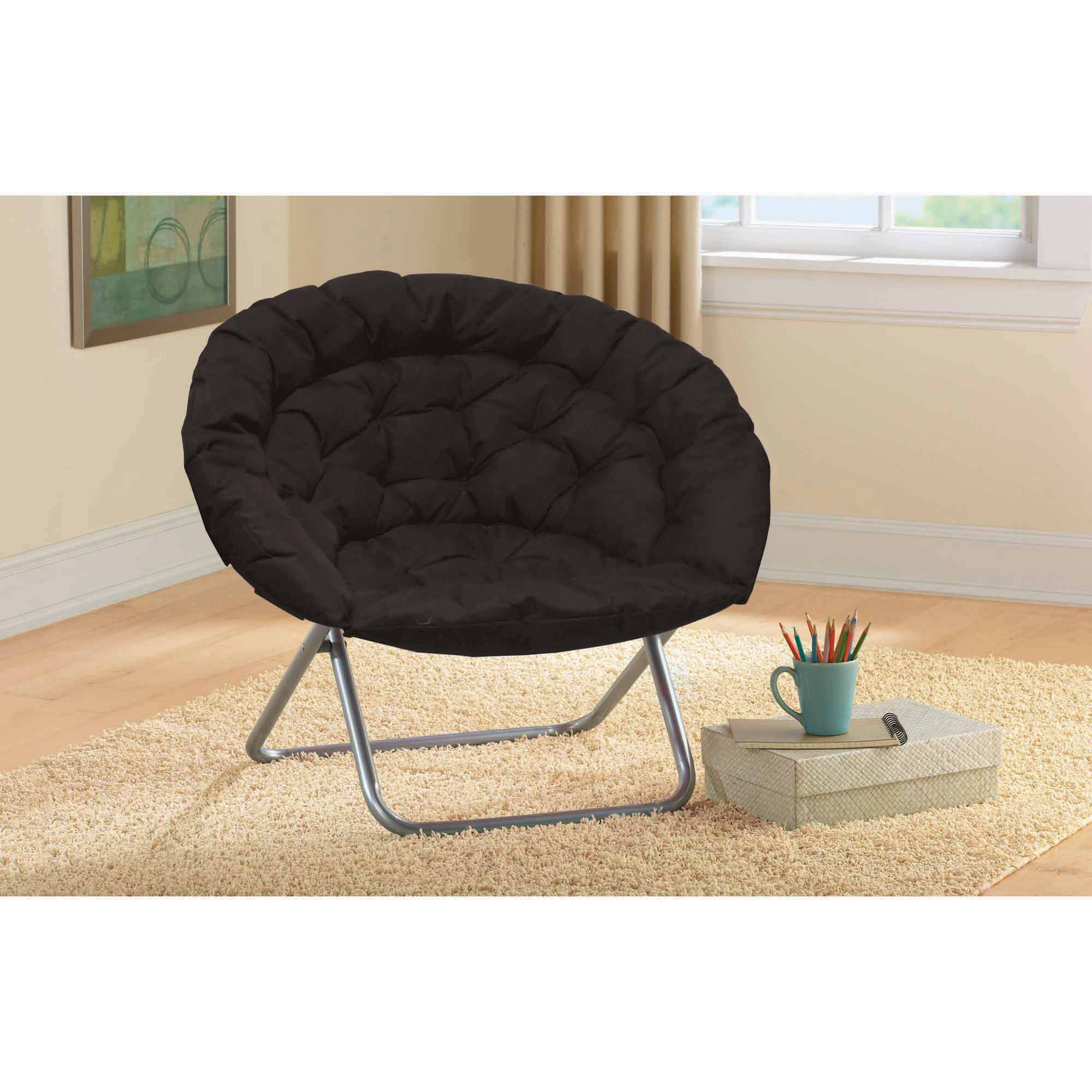 Oversized Moon Chair, Multiple Colors