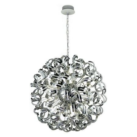 Elegant Lighting Tiffany 2068G43 Crystal (Elegant Crystal)