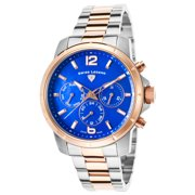 16526Sm-Sr-33 Legasea Multi-Function Two-Tone Stainless Steel Blue Dial Watch