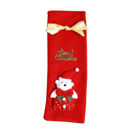 Hot Sale Merry Christmas Red Wine Bottle Cover Holder Bags Dinner Table Decoration Xmas Home Party Festival Ornament
