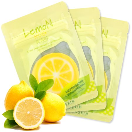 Lemon Hug Oil Vitamin C Cheek Patch [It's Skin], Face Forehead Cheek Mini Mask Patch Cooling Moisturizing Refreshing Infused with Vitamin C for Dark Spots, 12 mL - 30 (Cowling Mask)
