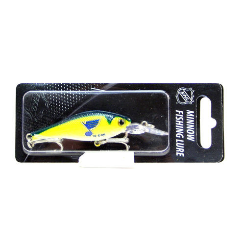 St. Louis Blues NHL Minnow Fishing Lure