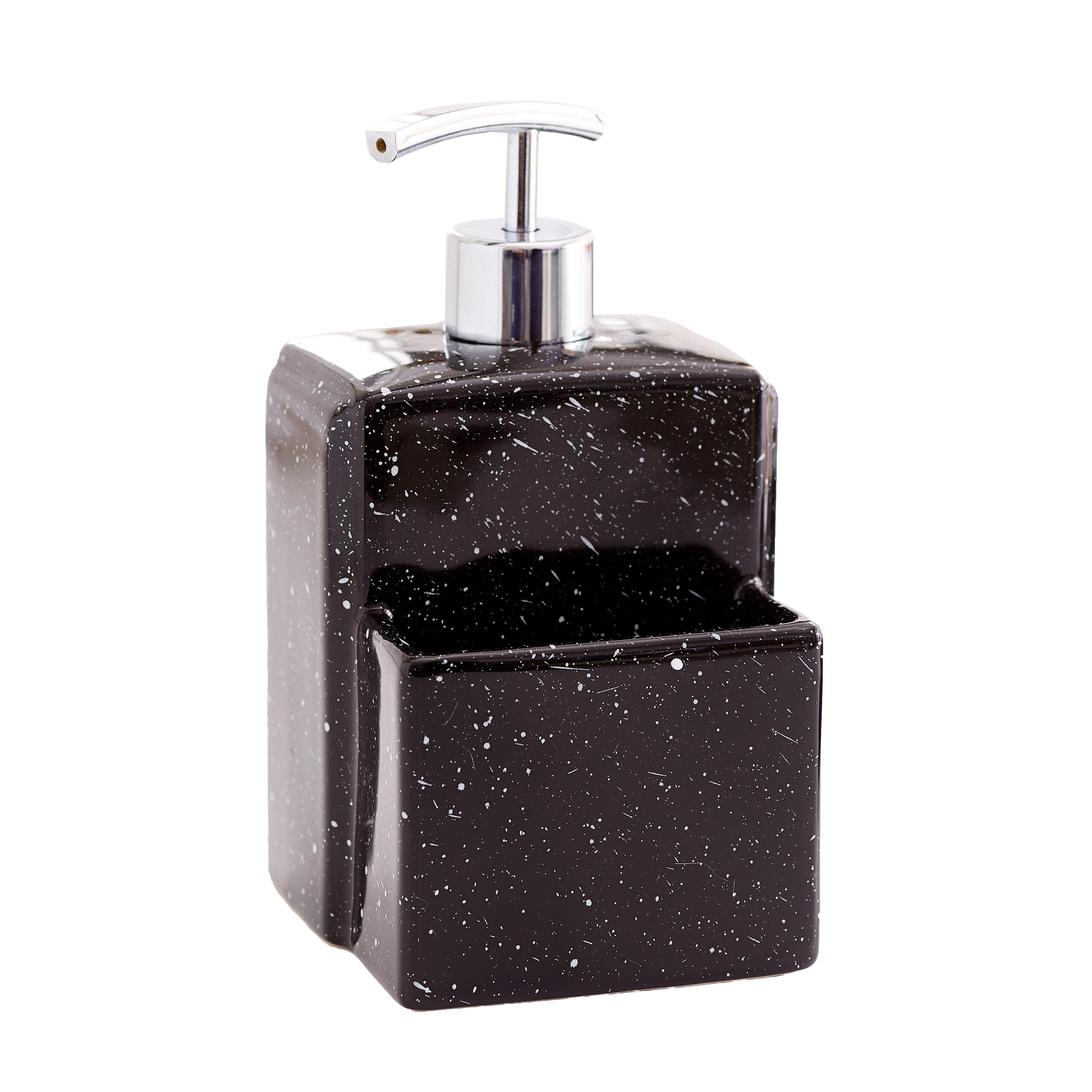 Soap Dispenser With Sponge Holder Kitchen Sink Caddy Accessory Walmart Com Walmart Com