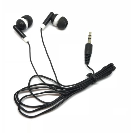 TFD Supplies Wholesale Bulk Hard Shell Plastic Carrying Storage Case Earbuds Headphones 50 Pack For Iphone, Android, MP3 Player - Black (Wholesale Store Supplies)