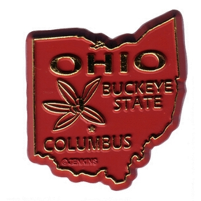 DDI Ohio Magnet 2d 50 State Red (pack Of 144)
